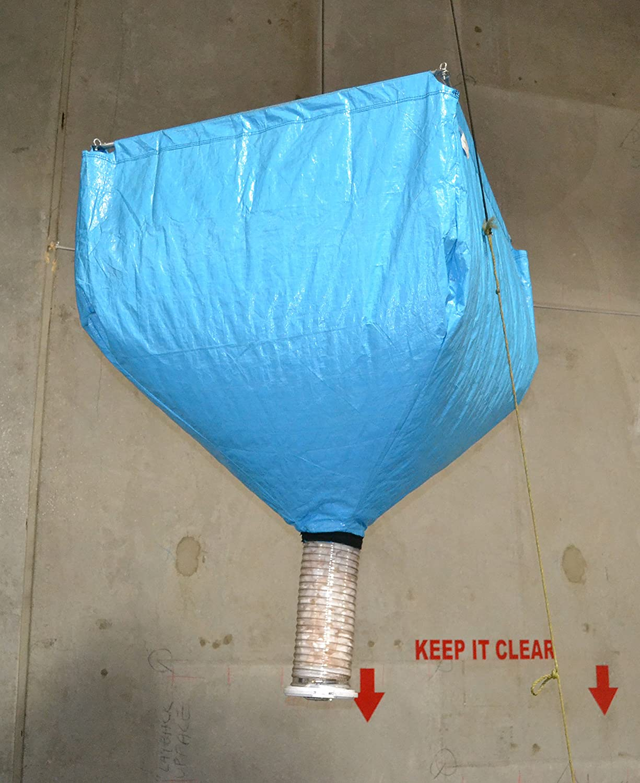 15 Cubic Ft. Packing Peanut Dispenser - (BLUE) - 100401 Miller Supply Inc.