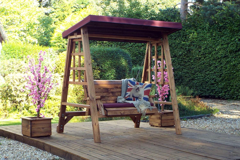 Home Gift Garden 2 Seater Wooden Garden Swing Seat Wooden Garden Hammock 2 Seat Swing With Canopy