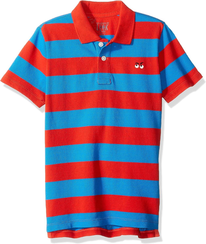 Crew Brand // J LOOK by crewcuts Boys Short Sleeve Polo