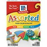 McCormick Assorted Food Color, 1 fl oz