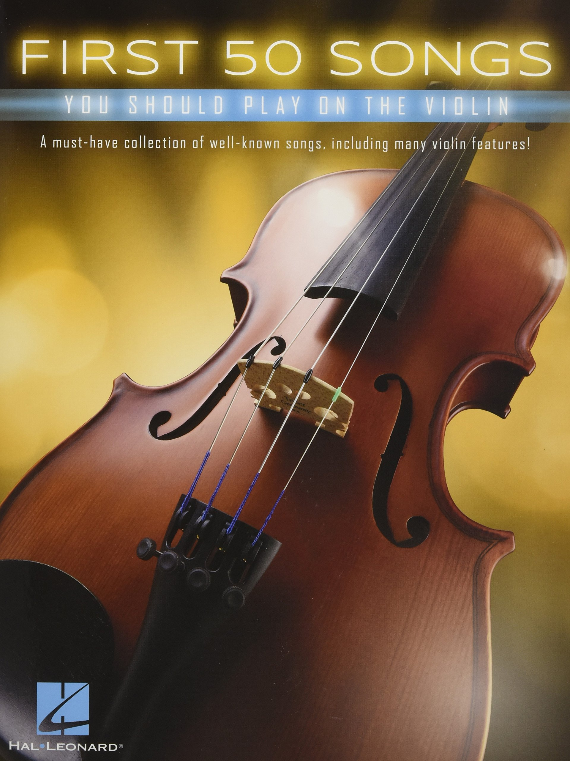 First 50 Songs You Should Play On The Violin: Amazon co uk: Various