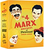 The 4 Marx Brothers At Paramount 1929 - 1933 (Limited Edition) (3 Blu-Ray) [Edizione: Regno Unito]