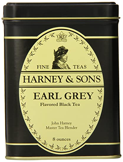 Harney & Sons Loose Leaf Black Tea, Earl Grey, 8 Ounce