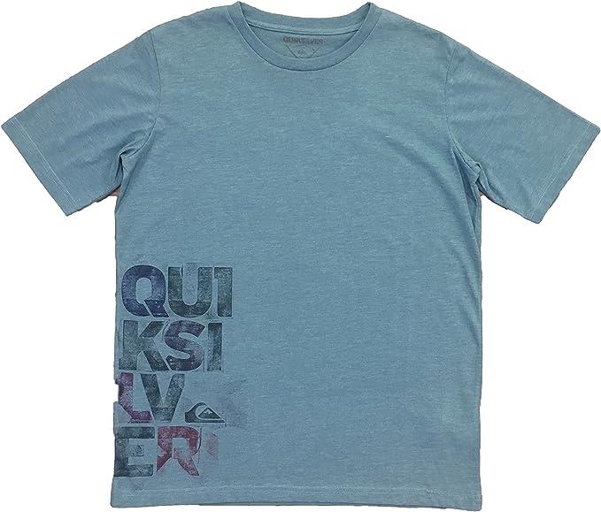 Quiksilver - Camiseta de Manga Corta, Chico, Color: Azul, Talla: 14 años: Amazon.es: Ropa y accesorios