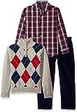 Izod boys 3-Piece Sweater, Dress Shirt, and Pants