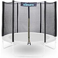 KIDUKU® trampoline vervangend net veiligheidsnet trampolinenet Ø 244 305 366 427 cm (244 cm, 6 stangen)
