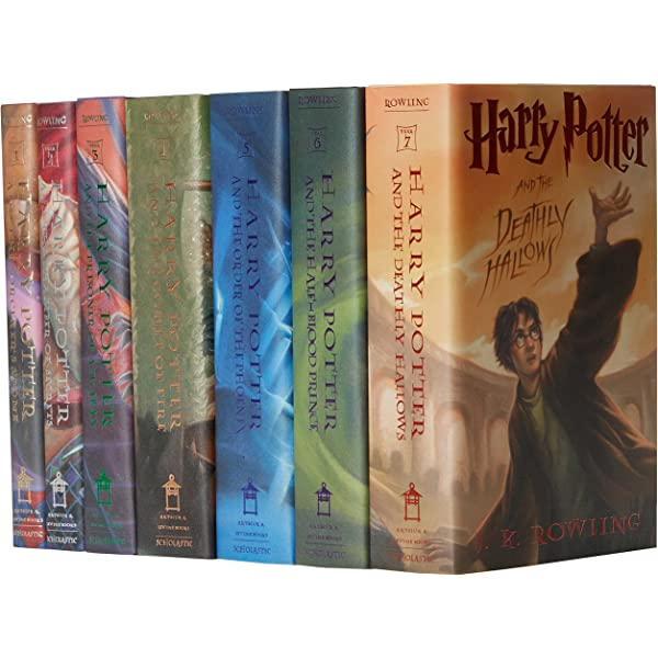 Rowling, J: Harry Potter Hard Cover Boxed Set: Books #1-7: Amazon ...