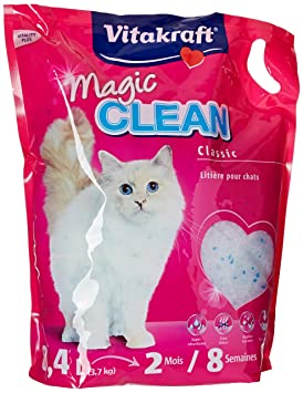 litiere chat vitakraft magic clean