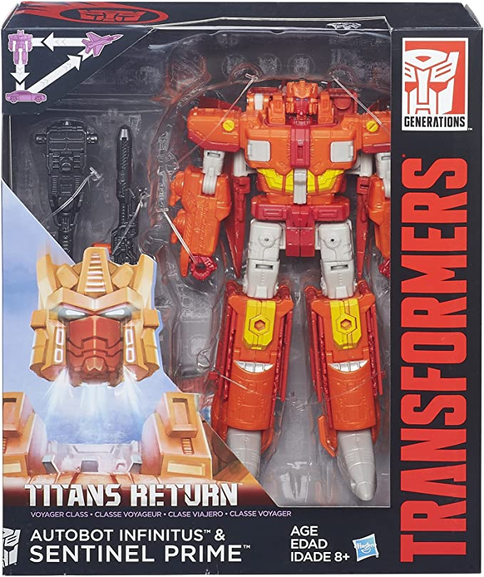 Transformers Generations Voyager Class Titans Return SENTINEL PRIME Kids Gift
