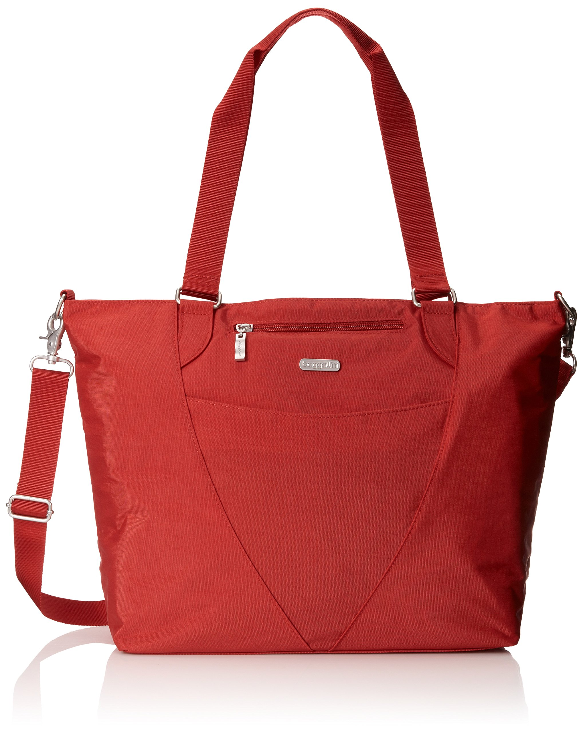 Baggallini Avenue Travel Tote, Apple, One Size