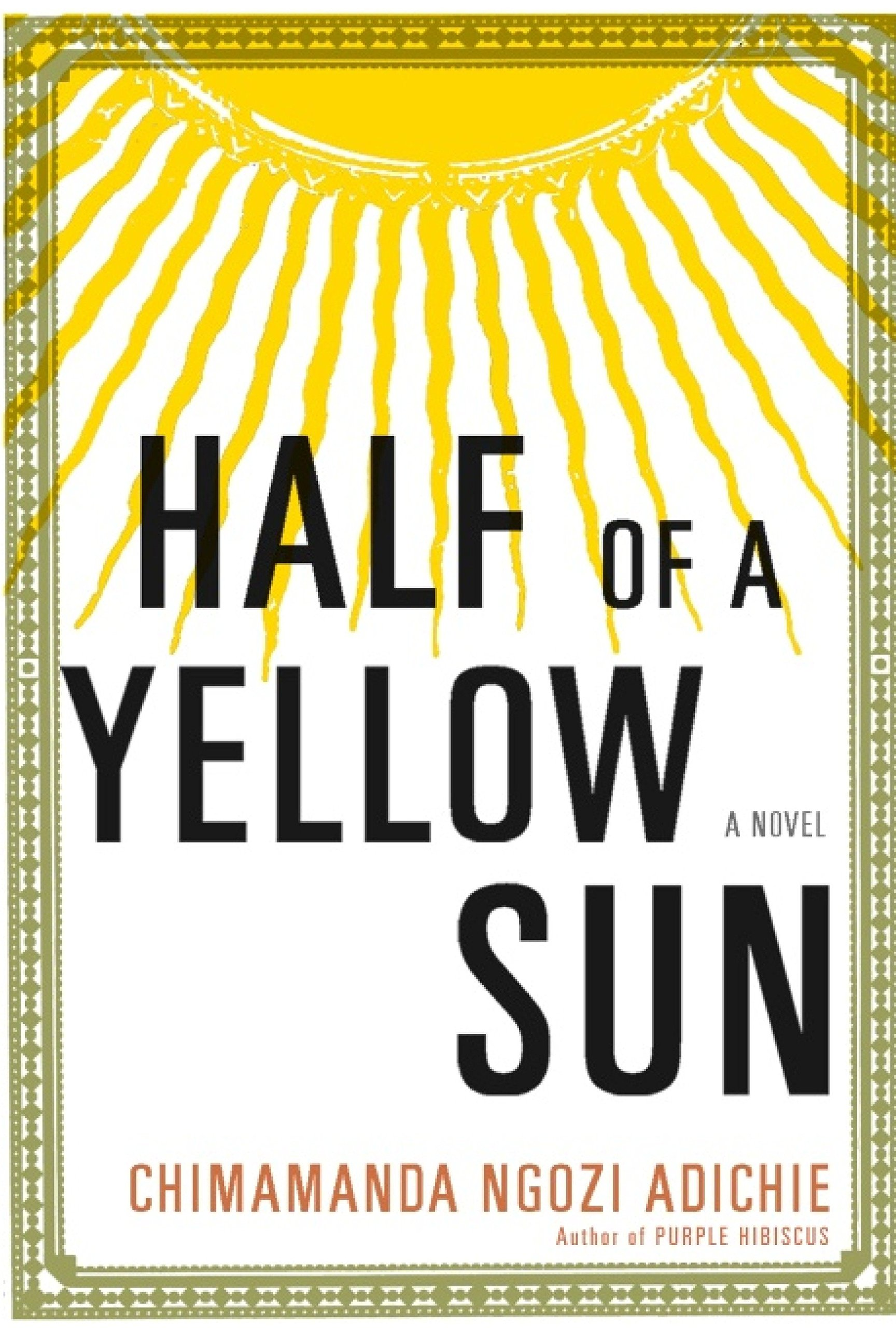 48460b4f48d6b Half of a Yellow Sun  Amazon.it  Chimamanda Ngozi Adichie  Libri in ...