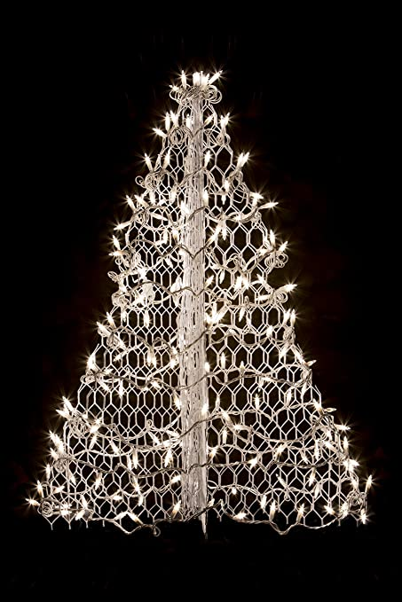 Amazoncom 3 Crab Pot Christmas Tree With White Wire And 160