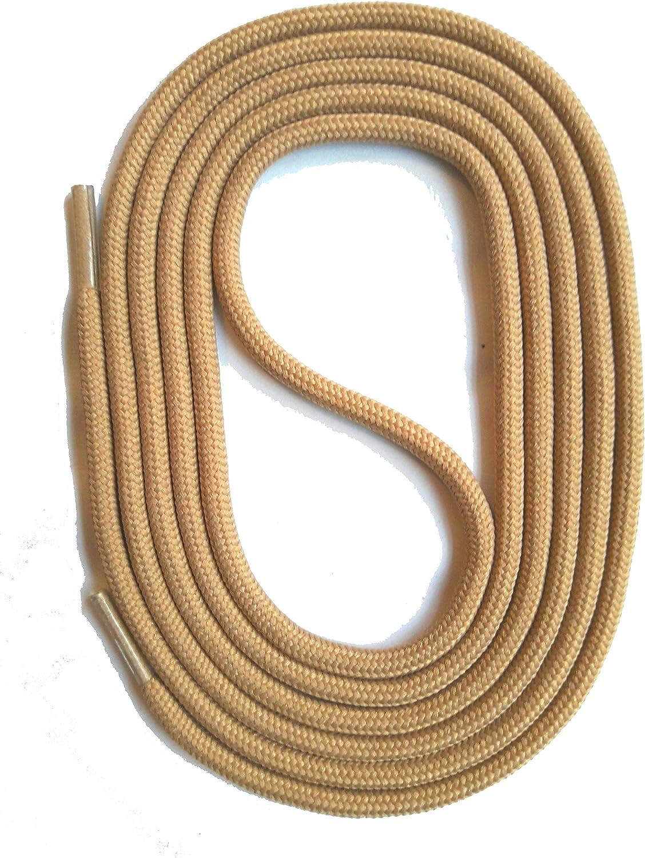SNORS LACETS de COULEUR ronds SABLE NATURE 2-3mm Dentelles