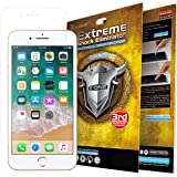 X.ONE Premium iPhone 7 8 Screen Protector Extreme Anti Shock PET Film Plastic Cover Guard - Anti-Scratching, Shock Proof, Shatter Proof, Bubble Free Easy Application, Clear HD, Case Friendly