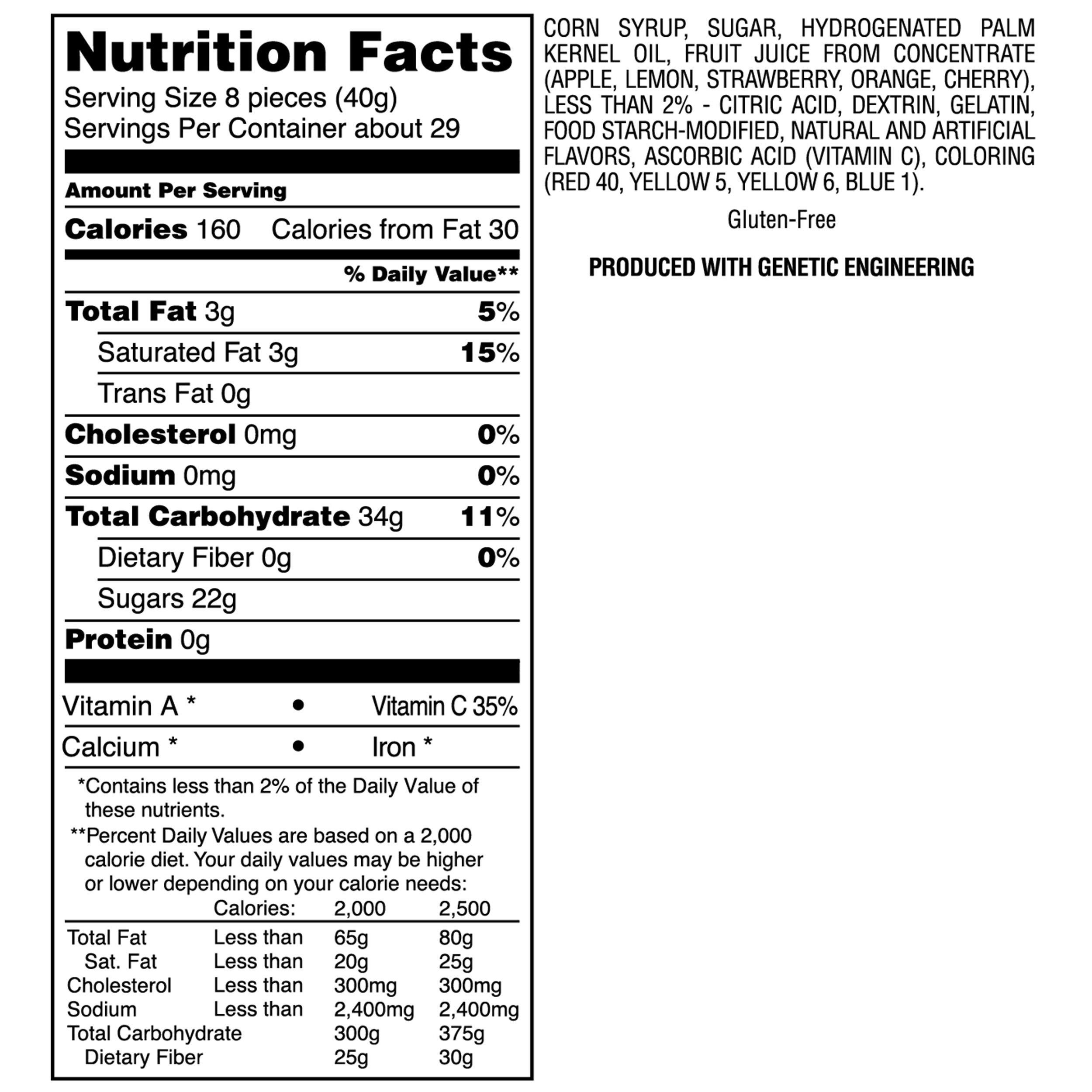 Starburst Lemon Fruit Chews - 10 Pound Bulk Bag by River Finn Organics (Image #2)