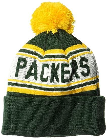 Amazon.com   NFL Boys Toddler Cuffed Knit with Pom Hat   Sports ... 871f93364ce