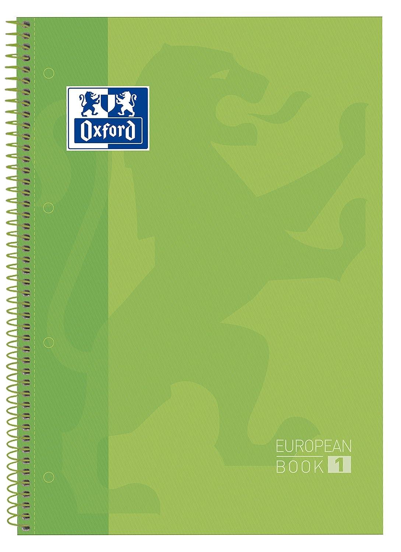 Oxford 100430197/Blocco Recambio Hard Cover con microperforazione A4/+ 80/fogli fucsia 90/G//M/² a quadretti