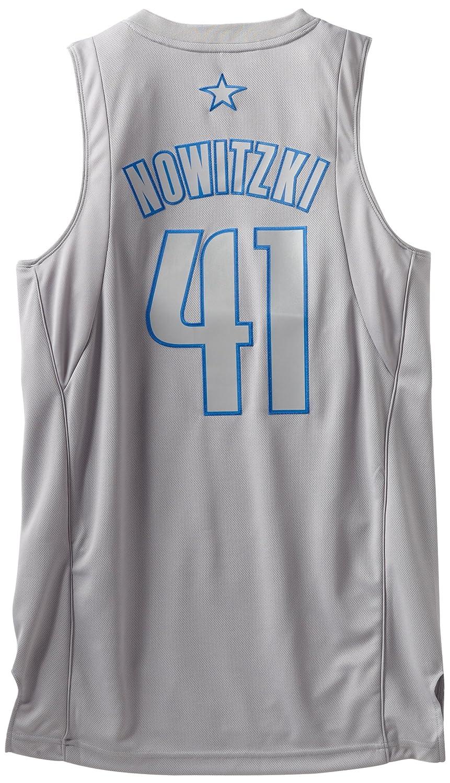 ADIDAS NBA Dallas Mavericks Grey SL Basketball Jersey Tank