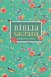 Bíblia NVI leitura perfeita - Capa flores