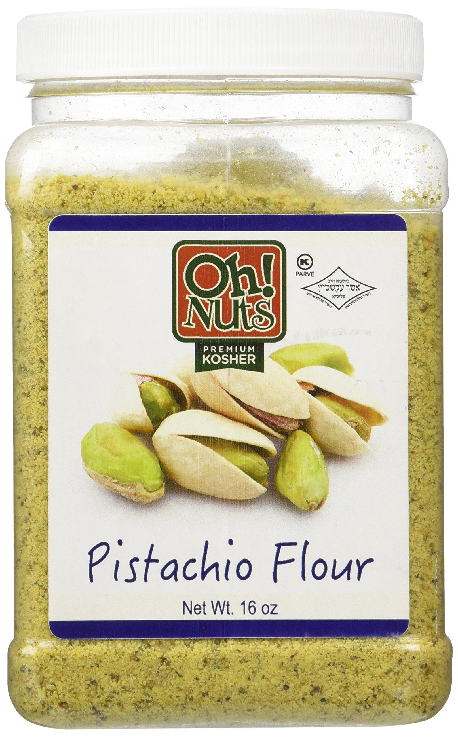 Flours & Meals 1 LB Jars - Oh! Nuts (Ground pistachios)