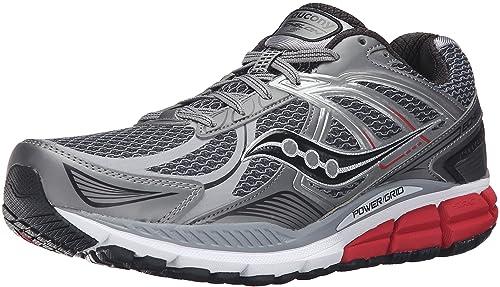 premium selection 8e6d0 9555e Saucony Echelon 5 - Zapatillas de Running para Hombre, GrisRojoAzul,