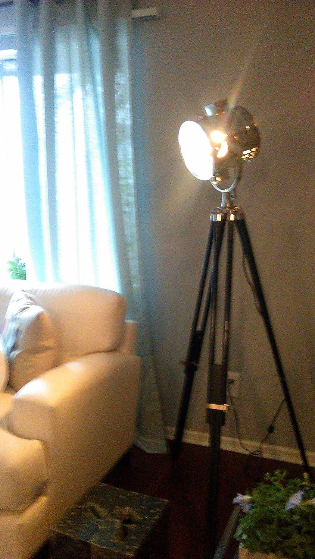 Royal master sealight floor lamp - Royal Sealight Spotlight Adjustable Tripod Floor Lamp Tripod Spotlight Floorlamp Amazon Com