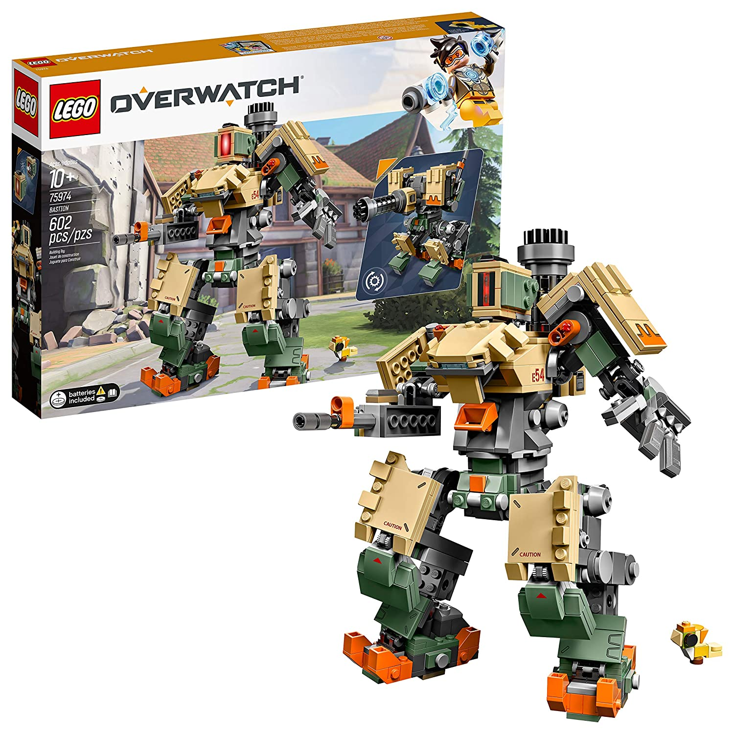 LEGO Overwatch 75974 Bastion Building Kit, 2019 (602 Pieces)