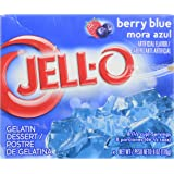 Jell-O Gelatin Berry Blue, 6 oz