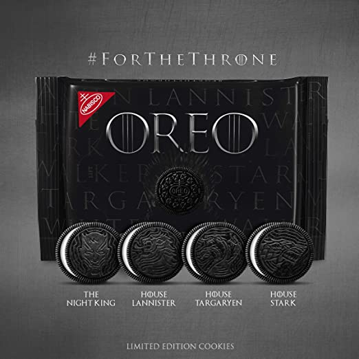 Amazon Com Oreo Limited Edition Game Of Thrones Themed Classic