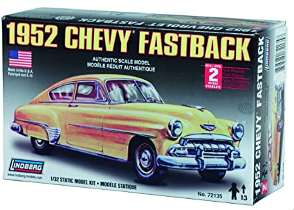 Lindberg 1 32 Scale 1952 Chevy Fastback Toys Games
