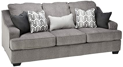 Delicieux Ashley Furniture Signature Design   Gilmer Chenille Upholstered Queen Size  Sleeper Sofa   Contemporary   Gunmetal