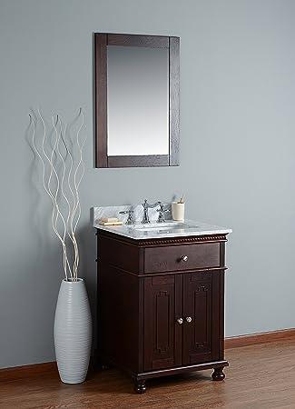 Amazon.com: rubeza Didim Set de baño blanco italiano mármol ...