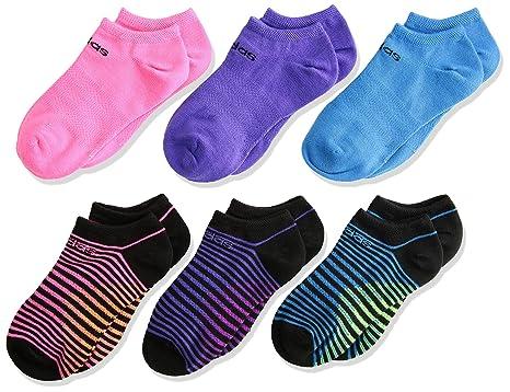 2adb7e2a00a9 adidas Kids  - Girls Superlite No Show Socks (6-Pair)  Amazon.com.au ...