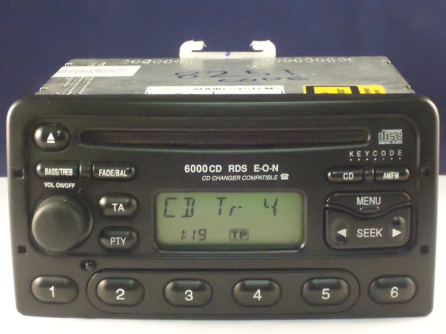 Ford Radio 6000  CD-Player 6000 RDS