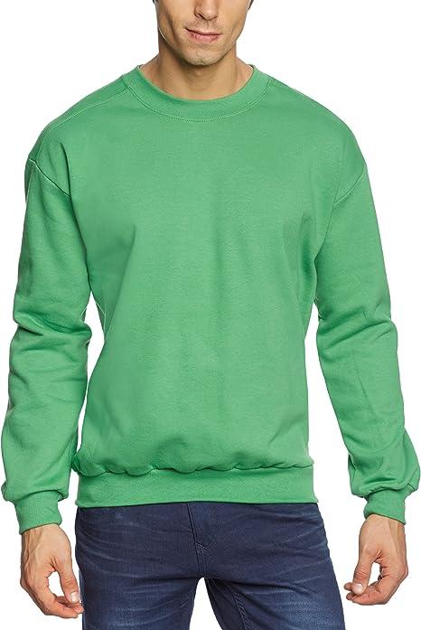 TALLA S. Anvil Adult Crewneck Sweatshirt Sudadera para Hombre