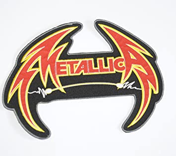 Lot Of 5 Different ~ Metallica Embroidered Patches ~ Iron on