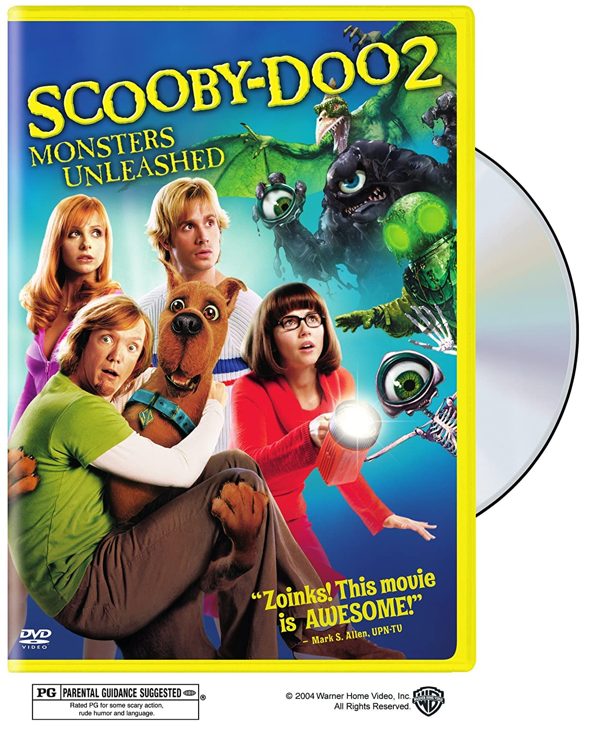 Amazon Com Scooby Doo 2 Monsters Unleashed Widescreen Edition Hanna Barbera Productions Raja Gosnell Charles Roven Brent O Connor Richard Suckle Kelley Smith Wait Joseph Barbera James Gunn Freddie Prinze Jr Sarah Michelle Gellar