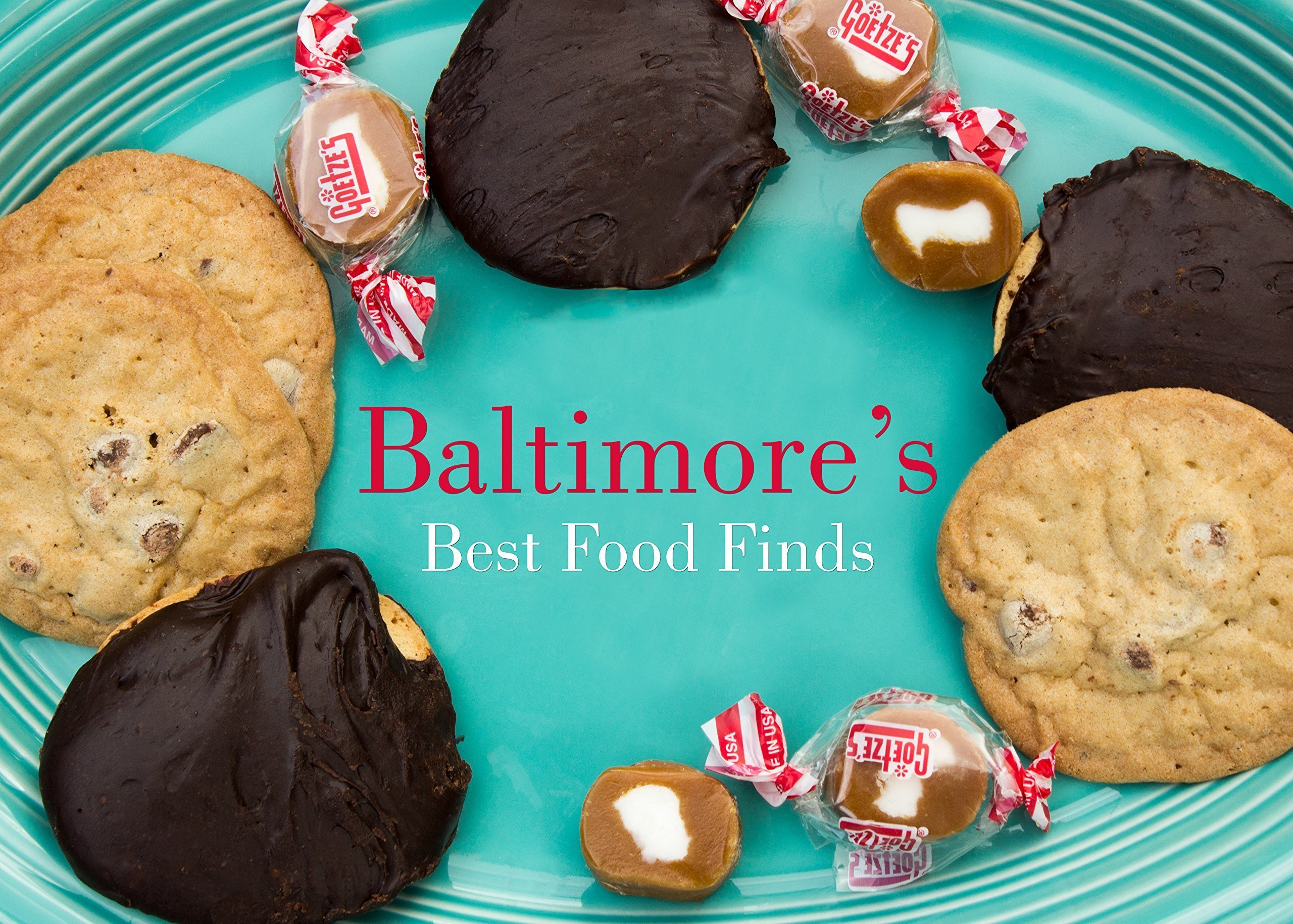 Berger Cookies, Goetze's Caramel Creams Candy, Otterbein's Cookies and Baltimore's Best Food Finds List. A 4 Item Gift Bundle by Baltimore Food Gifts