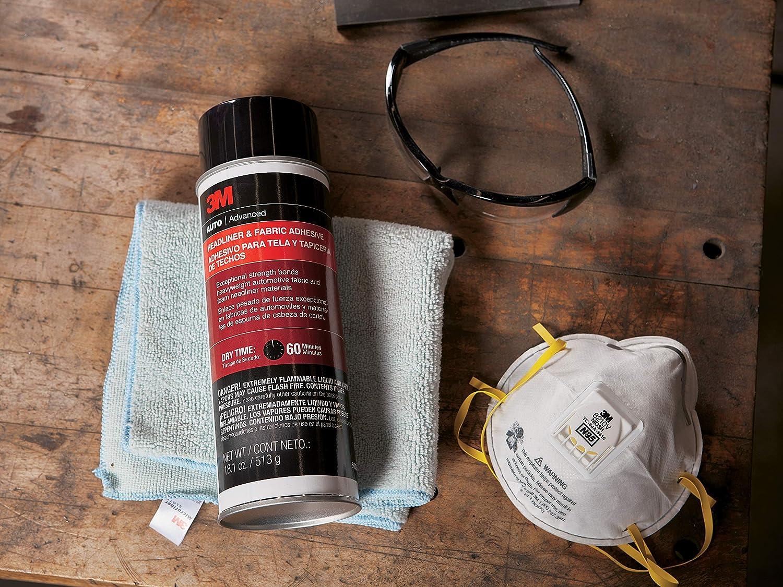 3M 38808-4PK Headliner and Fabric Adhesive - 18.1 fl. oz, (Pack of 4)