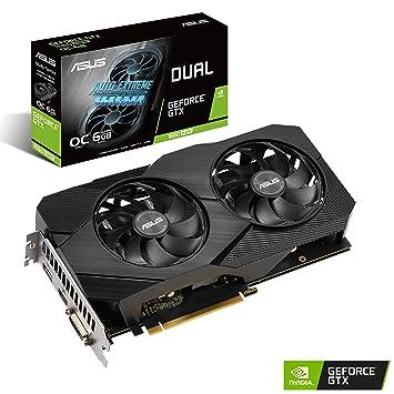 ASUS GeForce GTX 1660 Super Dual EVO OC 6GB GDDR6 Tarjeta ...