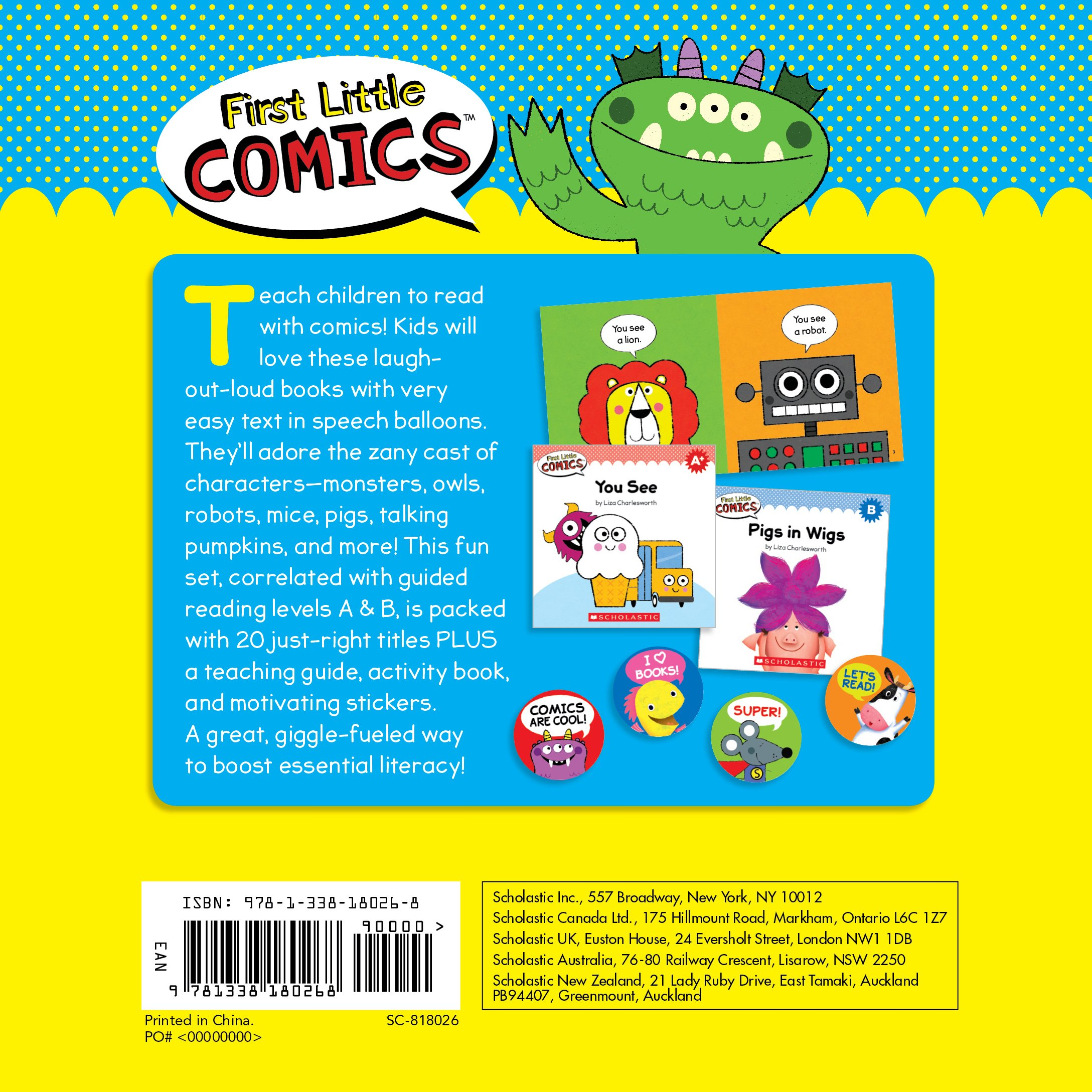 First Little Comics Parent Pack 20 Funny Books That Are