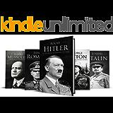 World War II Biographies: Adolf Hitler, Erwin Rommel, Benito Mussolini, George Patton, Joseph Stalin (5-Books Box Set Book 1)