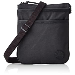 ecb2a88419c8c5 Timberland Mini Items Bag, Besaces mixte adulte, Schwarz (Black), 2x22x18 cm