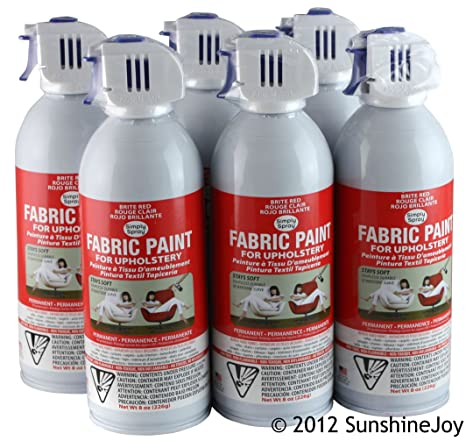 Simply Spray Upholstery Fabric Spray Paint 8 Oz. Can 3 Pack Hunter Green