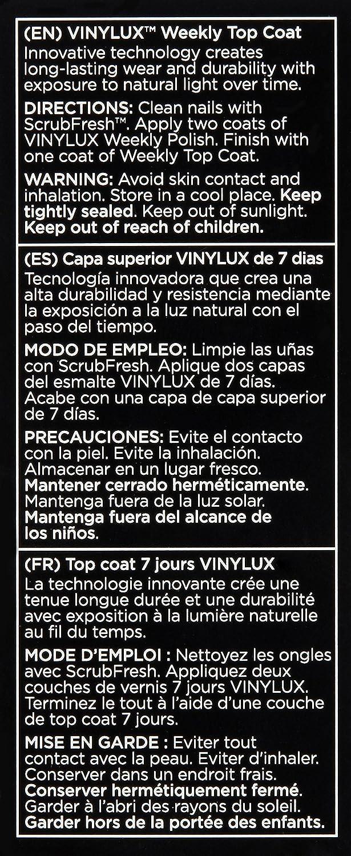 Amazon.com: CND Vinylux Weekly Nail Polish, Pink Bikini, .5 oz ...