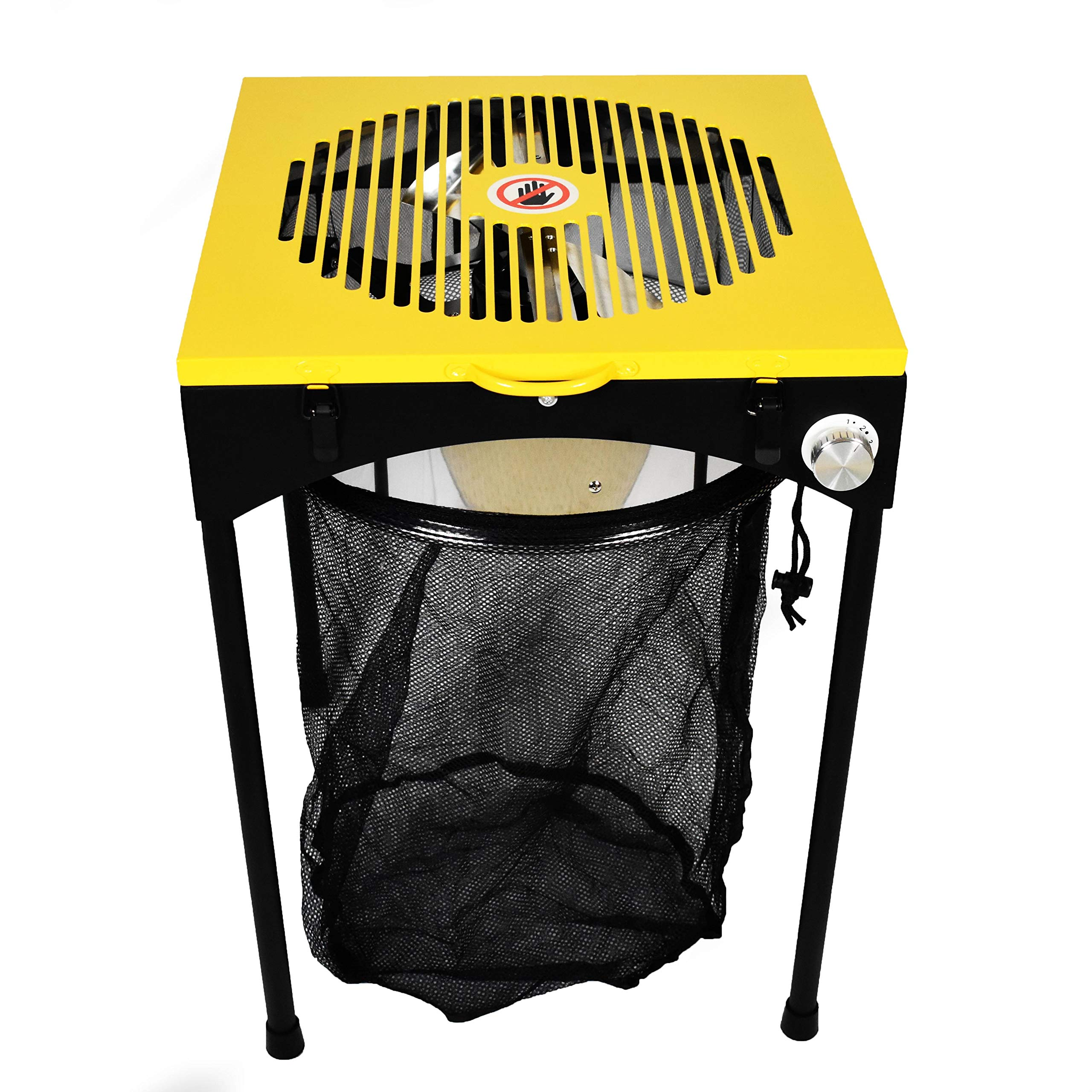 Origin Fleet 18-Inch Bud Leaf and Plant Flower Automatic Trimmer Reaper Hydroponics Machine with 3-Speeds, 6 Replacement Sharp Steel Cutting Blades and Bag by Origin Fleet