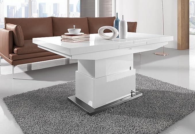 Basse Et 130cm En Table Évolutive Extensible De Salle À Manger 0wOnvmN8