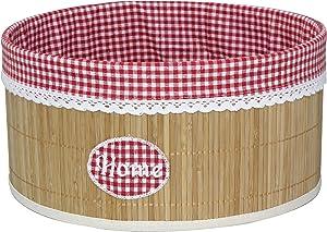 Set of 2 Laundry Hamper Bamboo Round Wicker Clothes Bin Basket Storage Bin Organizer Retail Dump Bin 100202