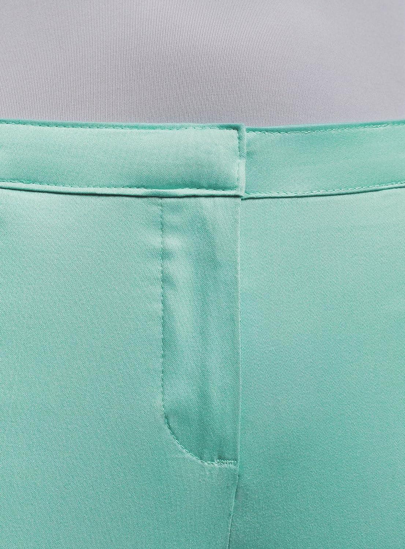 oodji Ultra Womens Basic Summer Trousers