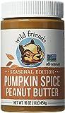 Wild Friends Foods Pumpkin Spice Peanut Butter, 16 oz Jar